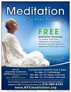 Meditation Workshop – FREE Meditation classes in New York City