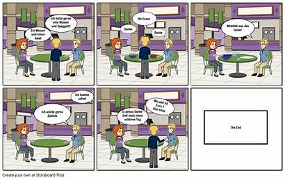 Essen Gehen Storyboard Biggartdonaldson Comic