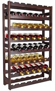Casier à Bouteilles En Bois : casier vin en bois laqu 56 bouteilles ~ Teatrodelosmanantiales.com Idées de Décoration