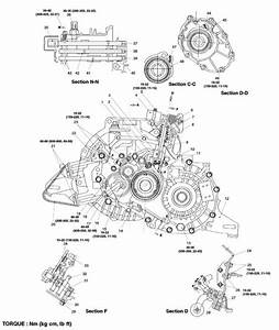 2001 Kia Rio Manual Transmission Fill Plug With Diagram