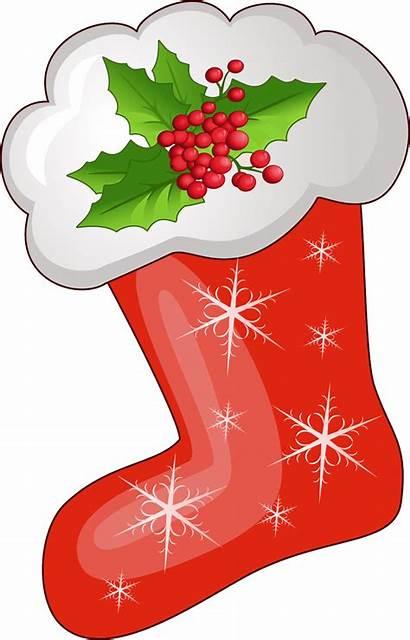 Stocking Clipart Transparent Merry Socks Stoking Clip