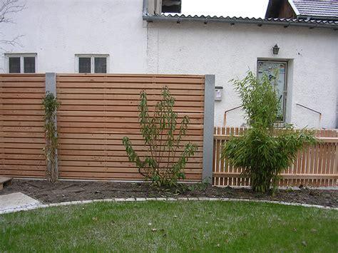 Sichtschutzzaun Holz Augsburg