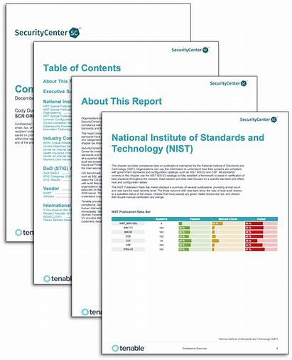 Compliance Report Summary Tenable Sc Template Templates