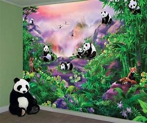 Omg, Cuuuuute, Panda, Wall, Mural
