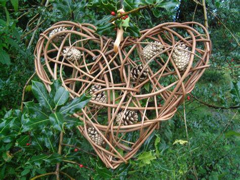 weidenherz advent deko make your own willow christmas