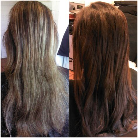 Brown To Hair Before And After Photos by Healthy Hair Is Beautiful Hair Before And After