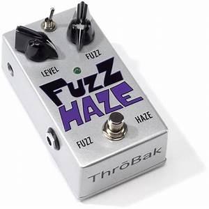 Throbak Fuzz Haze Guitar Effects Pedals  Vintage Fuzz Face