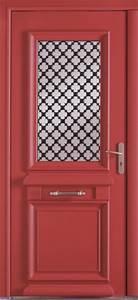 les portes d39entree les portes aluminium comptoir des bois With porte d entrée alu avec salle de bain couleur gris