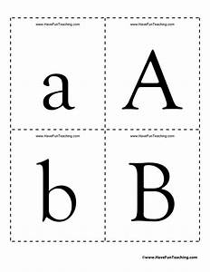 Alphabet flash cards have fun teaching for Flash cards alphabet letters