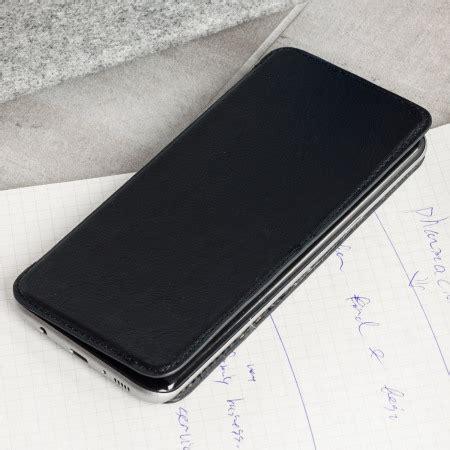 olixar slim genuine leather flip galaxy   wallet