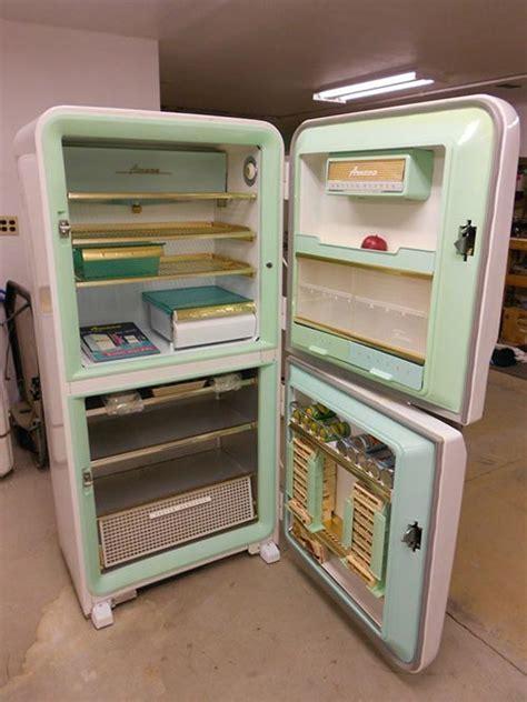 Vintage refrigerator    1956 Amana Stor More    never used