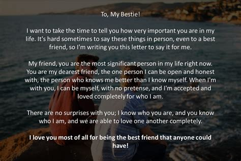 a letter to a best friend emotional an emotional letter to a best friend topicstotalkabout
