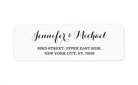 wedding address labels psd  premium templates