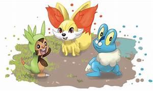 Sixth Gen Pokemon Starters Images   Pokemon Images