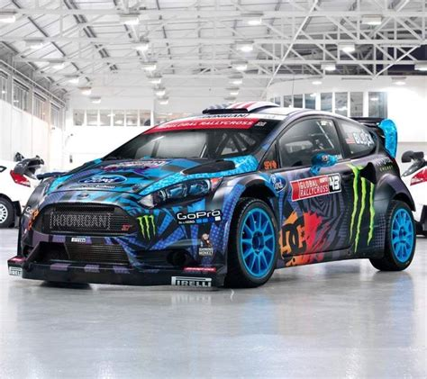 Ken Blocks Ford Fiesta