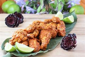Cambodian Red Curry Chicken Wings | Ocean View Kitchen
