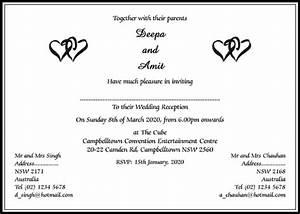 Hindu Wedding Cards Wordings | Hindu Wedding Invitations ...