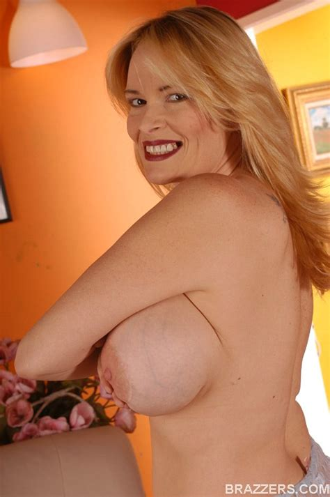 Busty Mom Lynn Lemay Fondles Her Tits And Spreading Pussy