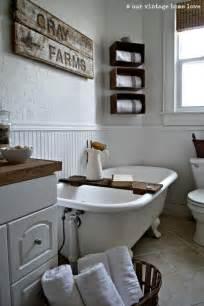farmhouse bathrooms ideas our vintage home farmhouse bathroom