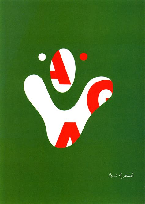 KaraKreative: Graphic Designer of the Month: Paul Rand