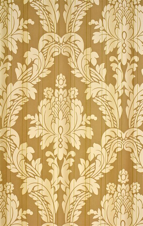 shabby chic damask wallpaper vintage wallpapers