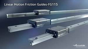 Linear Motion Friction Guides