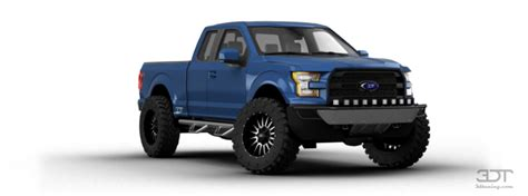 3dtuning Of Ford F-150 Supercab Truck 2015 3dtuning.com