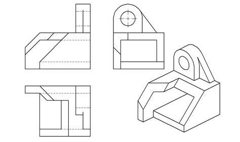 autocad isometric drawing exles autocad