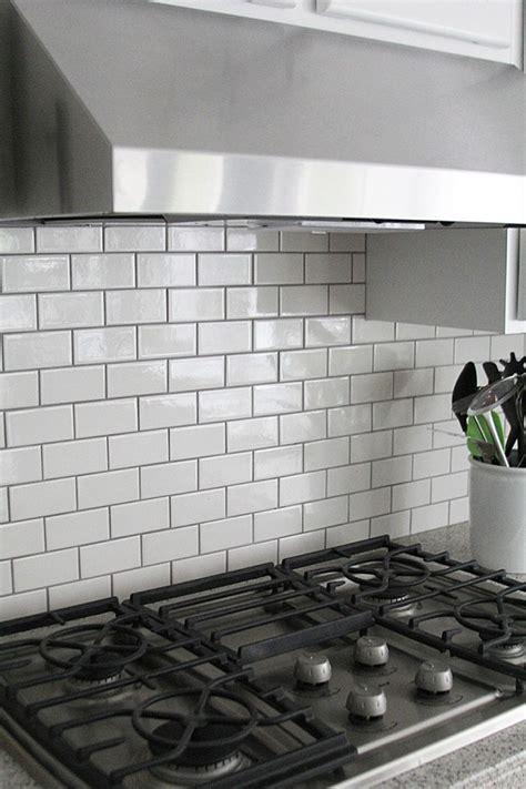 grout kitchen backsplash jennifer stagg of with heart chose dark grout when she