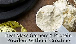 Best 6 Mass Gainers And Protein Powders Without Creatine