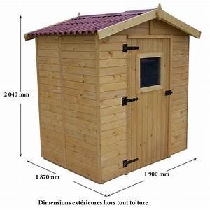 Abri De Jardin Petit : petit abri de jardin bois 3 55 m ep 16 mm habrita ~ Premium-room.com Idées de Décoration
