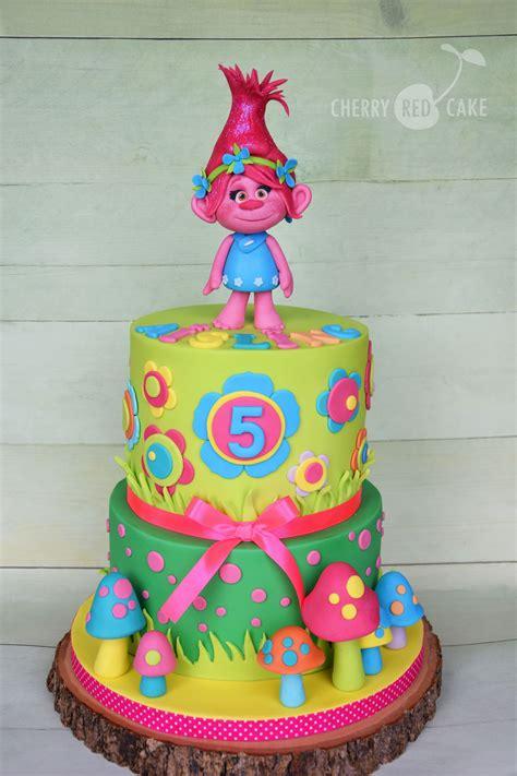 trolls cake poppy trolls birthday cake trolls cake