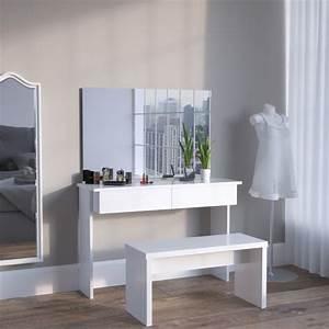 Schminktisch Weiß Modern : schminktisch kosmetiktisch dekos wei ~ Frokenaadalensverden.com Haus und Dekorationen