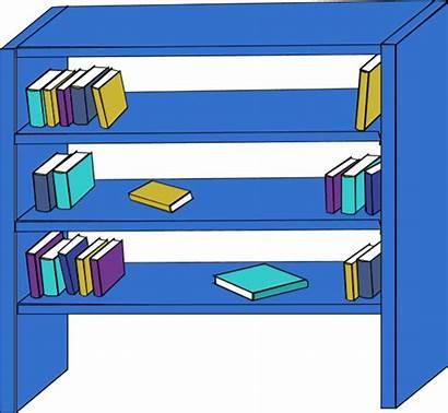Clipart Cupboard Bookshelf Bookcase Empty Closet Clip