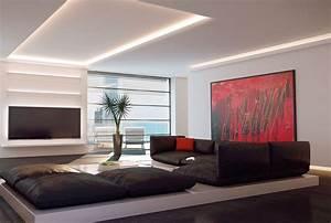 Moderne Wohnzimmer Wandgestaltung : wohnideen wandgestaltung maler komplett umbau und ~ Michelbontemps.com Haus und Dekorationen