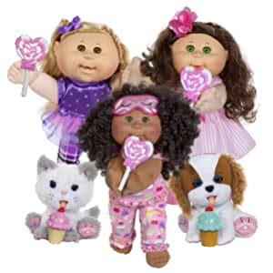 "Amazon com: Cabbage Patch Kids 14"" Kids Brunette Hair"