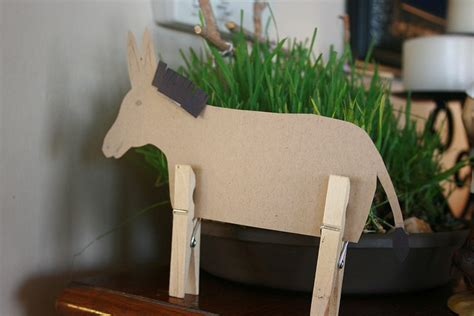 palm sunday donkey craft cranial hiccups