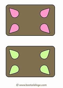 Lebkuchen Viereckige Vorlage Basteldinge