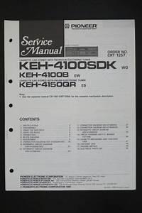 Pioneer Keh 4100b  4150qr Original Service Manual