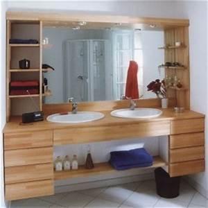 plan de travail classique flip design boisflip design bois With plan de travail en bois pour salle de bain
