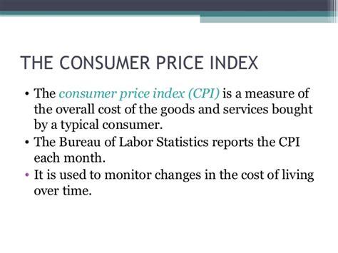 bureau of labor statistics consumer price index 28
