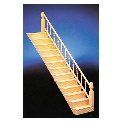 Fancy Stair Kit/assembled   Dollhouse Stairs   Superior