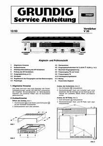 Grundig V30 Service Manual