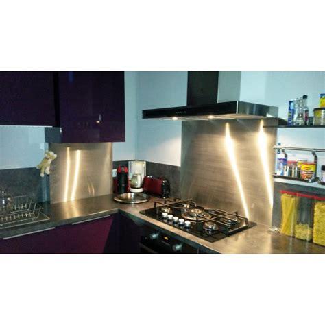 hotte cuisine 50 cm fond de hotte inox 50cm x 50cm livraison rapide