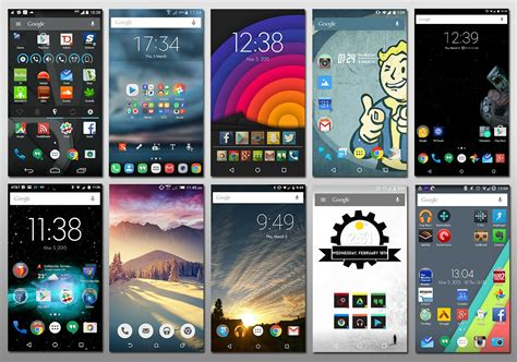 Customising Your Android Display