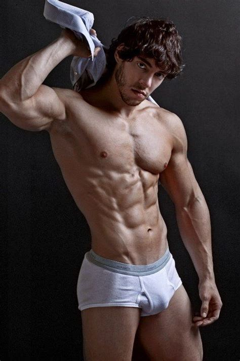 nick manzoni arms biceps muscles bulge workout triceps chest guys handsome