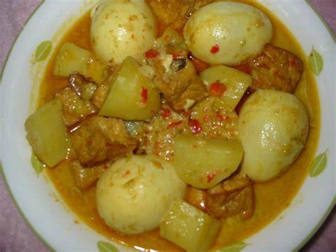 Keyword masakan tahu, resep tahu, tahu putih. Resep Masakan Istimewa Opor Telur Tahu - Hari Libur Nasional