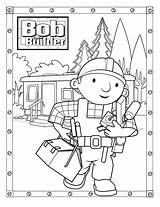 Builder Bob Coloring Printable Aggiustatutto Colouring Sheets Construction Hebrews Colorare Cartoon Children Printables Template Sock Monkey Templates Visit Bestcoloringpagesforkids sketch template