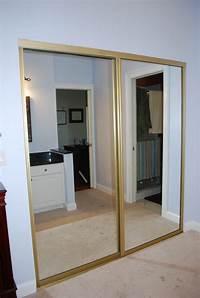 mirrored closet doors Kara's Korner: Closet Part 2 : Door Makeover