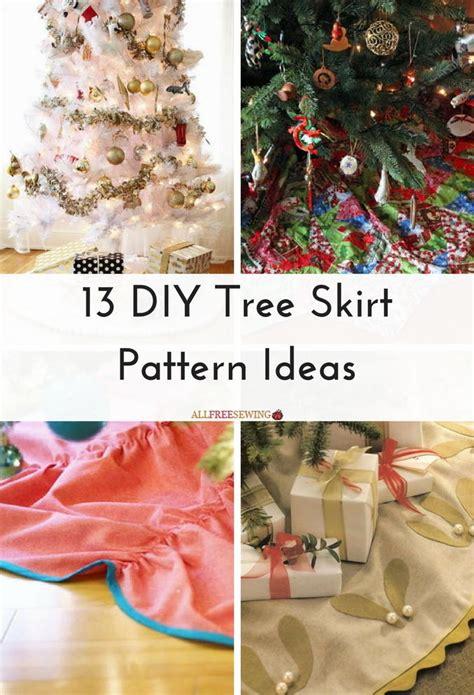 diy tree skirt pattern ideas allfreesewingcom